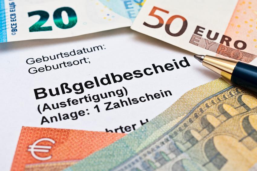 Bußgeldbescheid Einspruch Hamburg